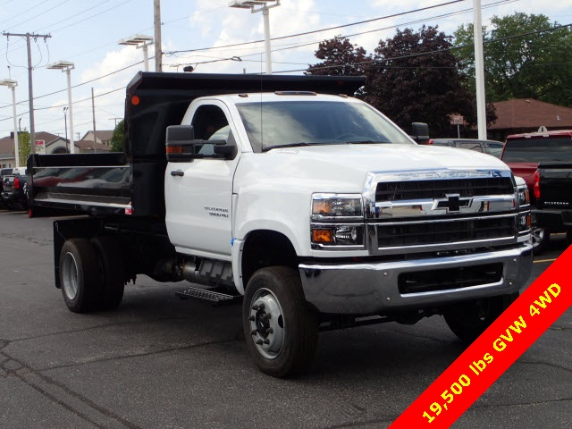 2019 Silverado 5500 Regular Cab DRW 4x4,  Monroe Dump Body #91034 - photo 1