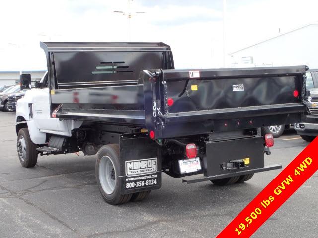 2019 Silverado Medium Duty Regular Cab 4x4,  Monroe Dump Body #91034 - photo 1