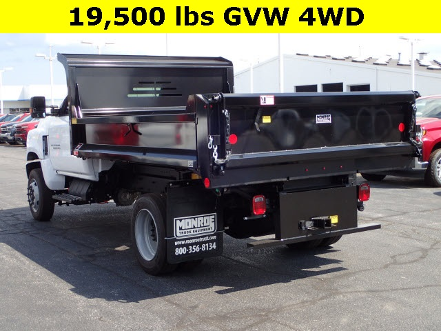 2019 Silverado Medium Duty Regular Cab 4x4,  Cab Chassis #91045 - photo 1