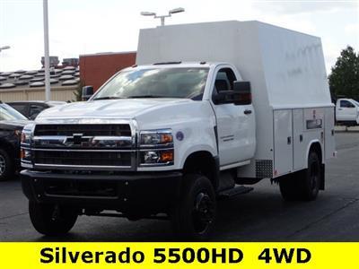 2019 Silverado 4500 Regular Cab DRW 4x4,  Reading Panel Service Body #91055 - photo 5