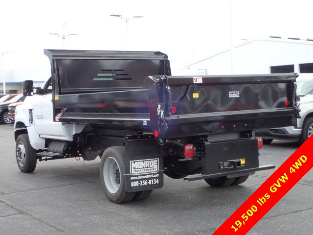 2019 Silverado Medium Duty Regular Cab 4x4,  Monroe Dump Body #91072 - photo 1
