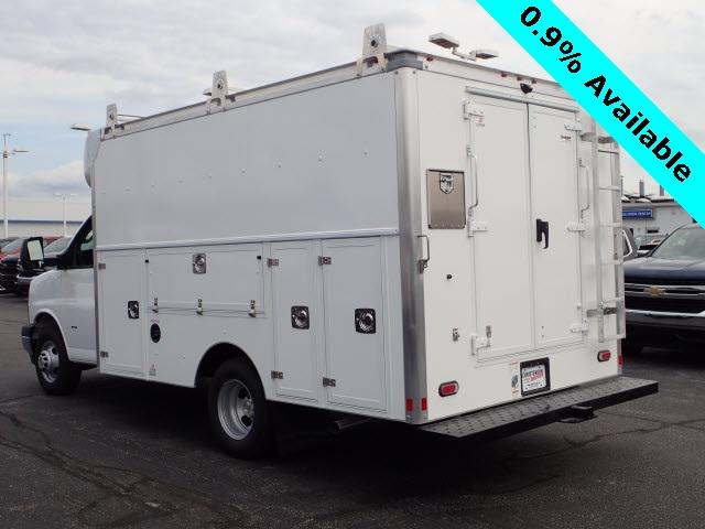 2019 Express 3500 4x2,  Supreme Service Utility Van #91073 - photo 1