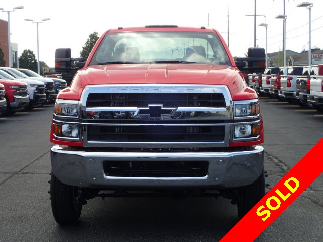 2019 Silverado 4500 Regular Cab DRW 4x4,  Monroe MSS II Service Body #91109 - photo 3