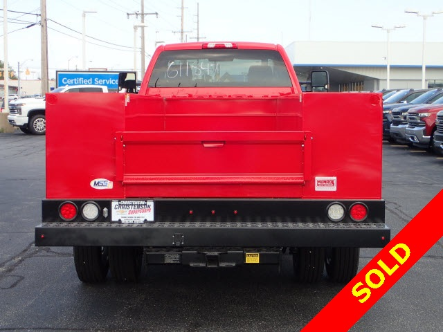 2019 Silverado 4500 Regular Cab DRW 4x4,  Monroe MSS II Service Body #91109 - photo 5