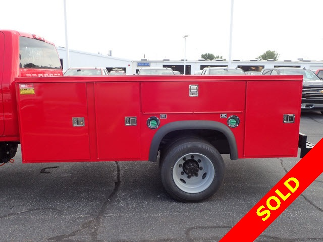 2019 Silverado 4500 Regular Cab DRW 4x4,  Monroe MSS II Service Body #91109 - photo 6