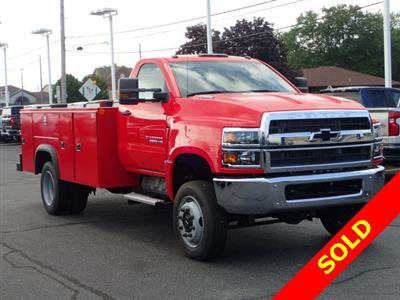 2019 Silverado 4500 Regular Cab DRW 4x4,  Monroe MSS II Service Body #91109 - photo 1