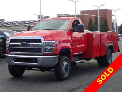 2019 Silverado 4500 Regular Cab DRW 4x4,  Monroe MSS II Service Body #91109 - photo 4