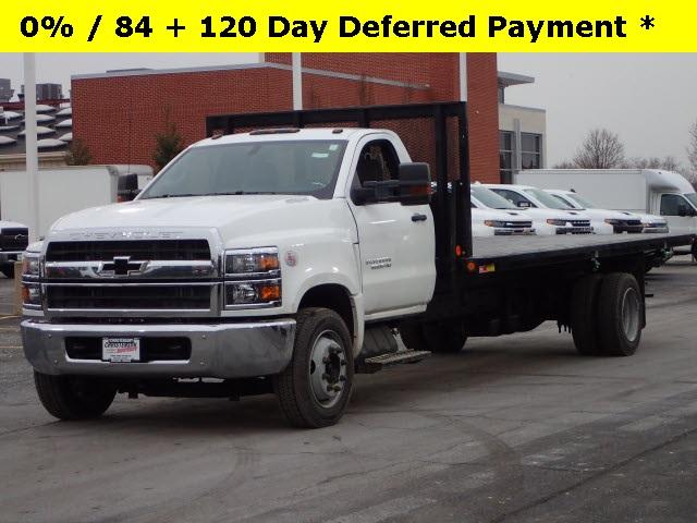 2019 Silverado 6500 Regular Cab DRW 4x2, Monroe Platform Body #HL91138 - photo 1