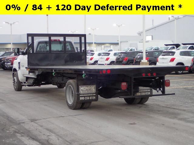 2019 Chevrolet Silverado 6500 Regular Cab DRW 4x2, Monroe Platform Body #HL91138 - photo 1