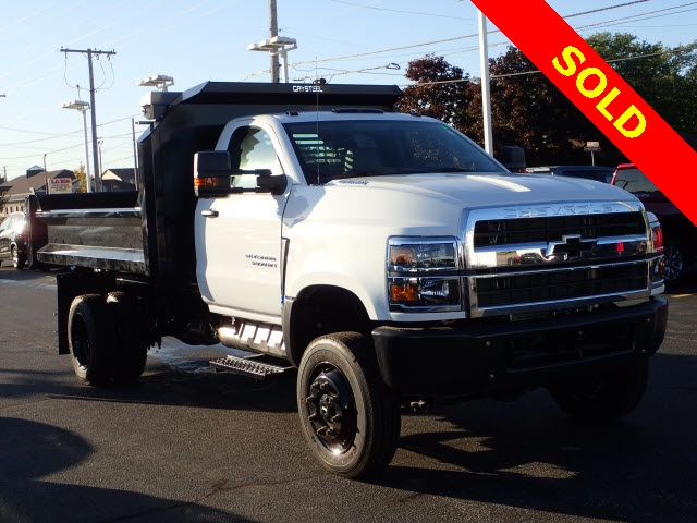 2019 Chevrolet Silverado 5500 Regular Cab DRW 4x4, Crysteel Dump Body #HL91148 - photo 1