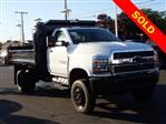 2019 Chevrolet Silverado 5500 Regular Cab DRW 4x4,  Crysteel Dump Body #91148 - photo 1