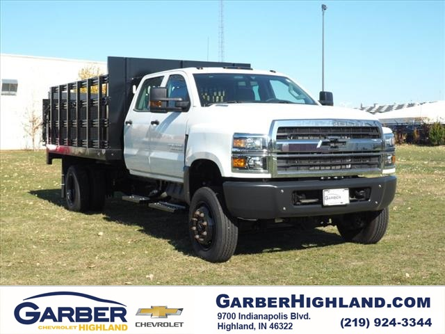 2019 Chevrolet Silverado 5500 Crew Cab DRW 4x4, Reading Stake Bed #HL91151 - photo 1