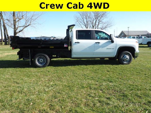 2020 Chevrolet Silverado 3500 Crew Cab DRW 4x4, Monroe Dump Body #LF286523 - photo 1