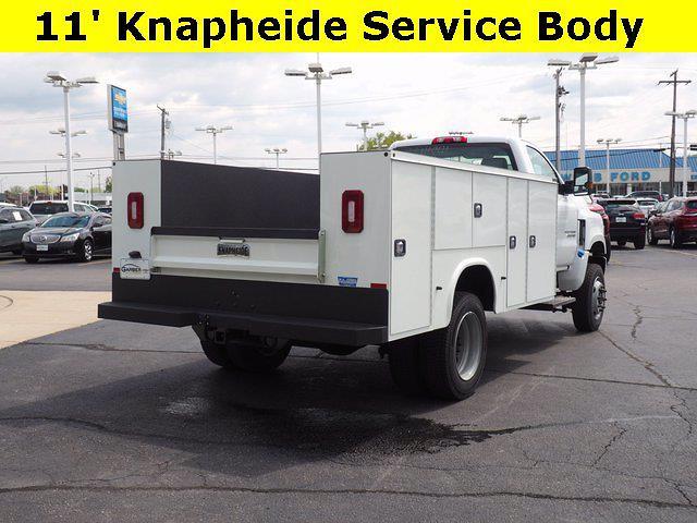 2021 Silverado Medium Duty Regular Cab DRW 4x4,  Knapheide Steel Service Body #MH641841 - photo 2