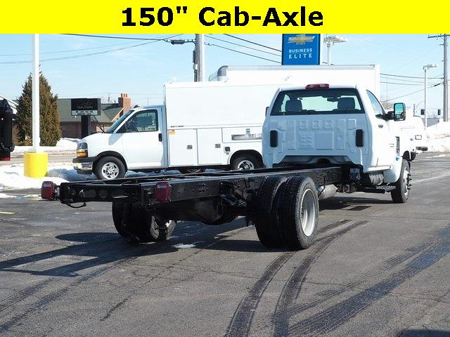 2021 Chevrolet Silverado 6500 Regular Cab DRW 4x2, Cab Chassis #MH641845 - photo 1