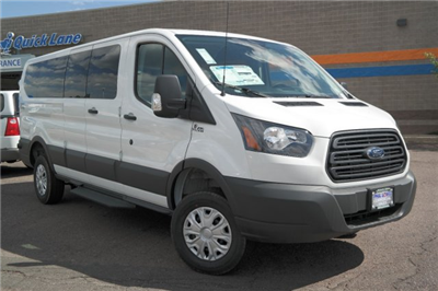 2018 Transit 350 Low Roof, Quigley Motor Company Passenger Wagon #A09035 - photo 1
