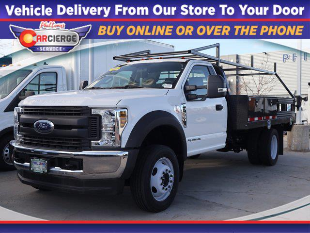 2019 Ford F-550 Regular Cab DRW 4x4, CM Truck Beds Contractor Body #A23168 - photo 1