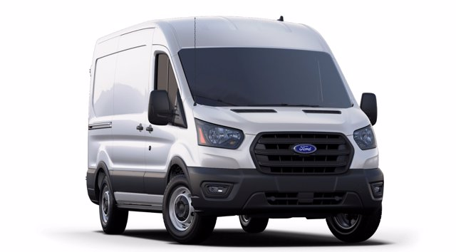 2020 Ford Transit 150 Med Roof RWD, Empty Cargo Van #A35566 - photo 4