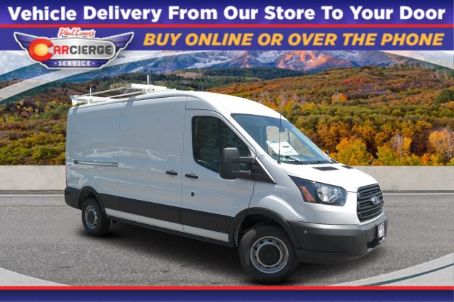 2019 Ford Transit 350 Med Roof 4x2, Empty Cargo Van #B16936 - photo 1