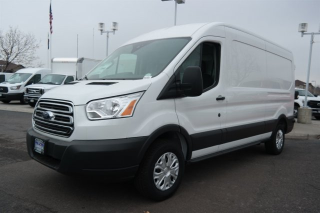 2018 Transit 250 Med Roof 4x2,  Sortimo Upfitted Cargo Van #B43401 - photo 5