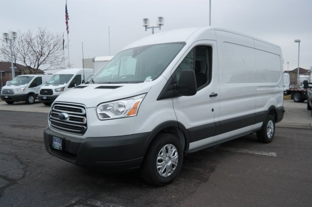 2018 Transit 250 Med Roof 4x2,  Sortimo Upfitted Cargo Van #B43402 - photo 5