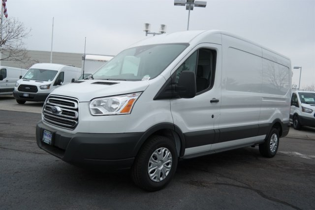 2018 Transit 250 Med Roof 4x2,  Sortimo Upfitted Cargo Van #B43403 - photo 5