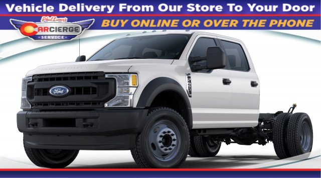 2020 Ford F-450 Crew Cab DRW 4x4, Cab Chassis #C49180 - photo 1
