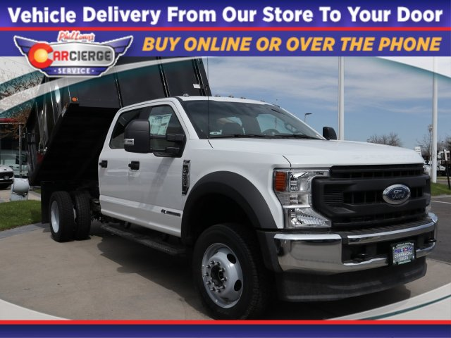 2020 Ford F-550 Crew Cab DRW 4x4, Freedom Landscape Dump #C54620 - photo 1
