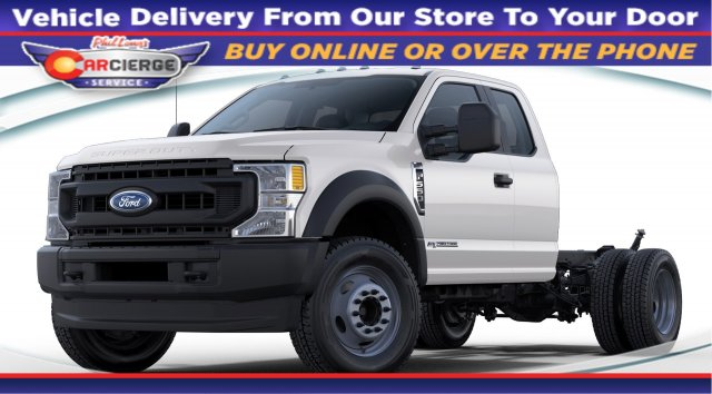 2020 Ford F-550 Super Cab DRW 4x4, Cab Chassis #C54627 - photo 1