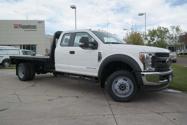 2018 F-450 Super Cab DRW 4x4,  Knapheide Platform Body #C95387 - photo 4