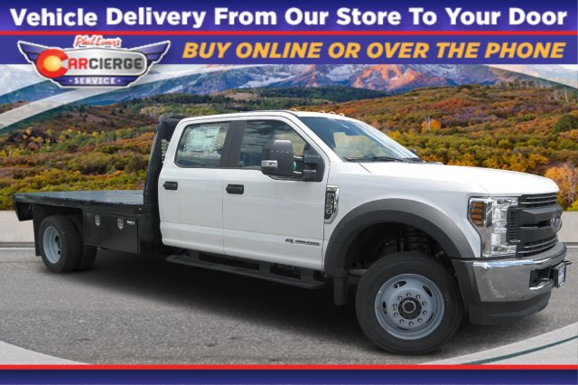 2019 Ford F-550 Crew Cab DRW 4x4, Knapheide Platform Body #D96767 - photo 1