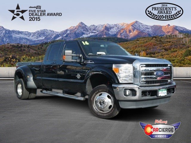 2016 F-350 Crew Cab DRW 4x4 Pickup #DP4476 - photo 1