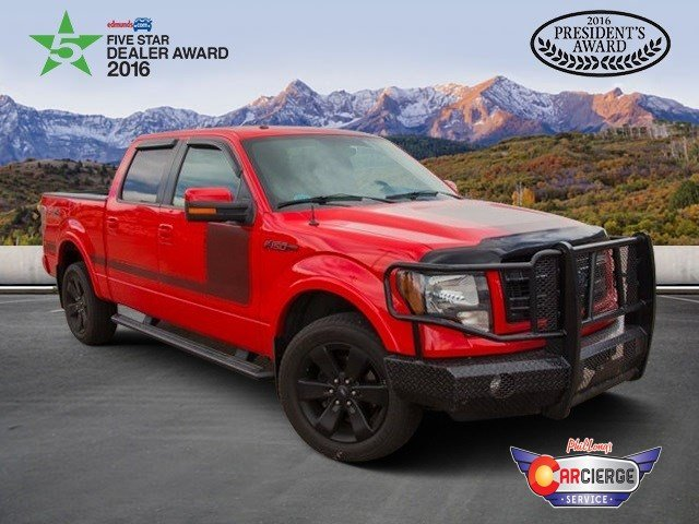2013 F-150 SuperCrew Cab 4x4,  Pickup #DP5227 - photo 1