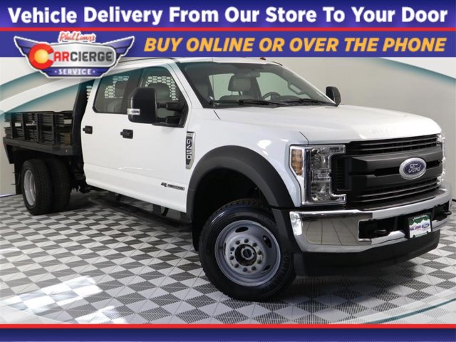 2018 F-450 Crew Cab DRW 4x4, Platform Body #DP7162 - photo 1