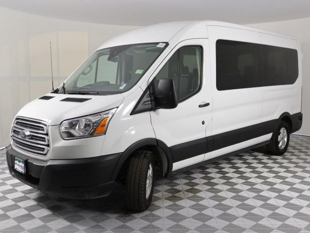 2019 Transit 350 Med Roof 4x2, Passenger Wagon #DP7195 - photo 1