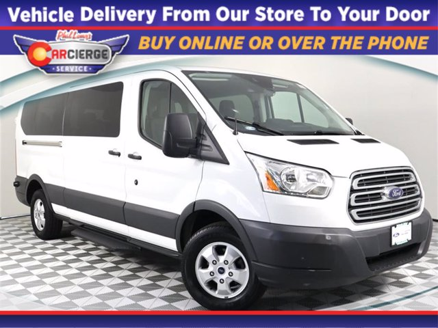 2017 Ford Transit 350 Low Roof RWD, Passenger Wagon #DP7574 - photo 1