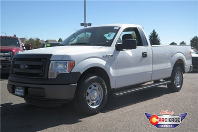 2013 F-150 Regular Cab Pickup #E56018A - photo 4