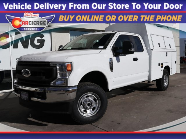 2020 Ford F-350 Super Cab 4x4, Knapheide Service Body #EC14386 - photo 1