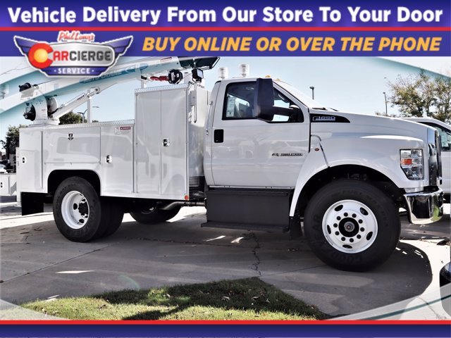 2021 Ford F-650 Regular Cab DRW 4x2, Scelzi Mechanics Body #F00048 - photo 1