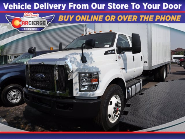 2021 Ford F-650 Crew Cab DRW 4x2, Brown Industries Dry Freight #F01973 - photo 1