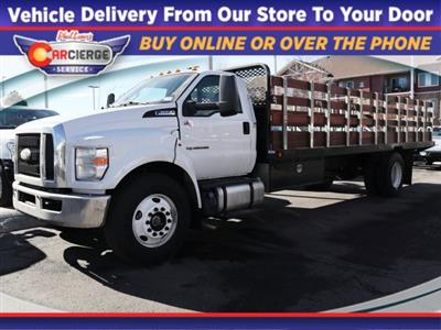 2019 Ford F-650, Scelzi Stake Bed