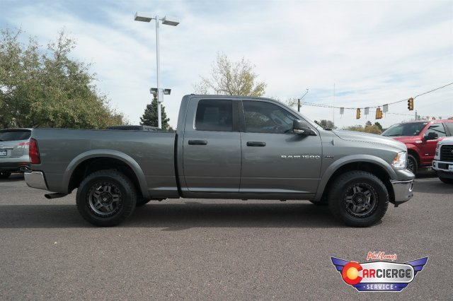 2012 Ram 1500 Quad Cab 4x4,  Pickup #F27929A - photo 3