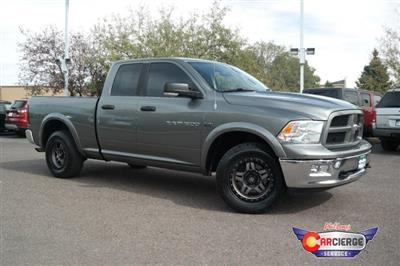 2012 Ram 1500 Quad Cab 4x4,  Pickup #F27929A - photo 4
