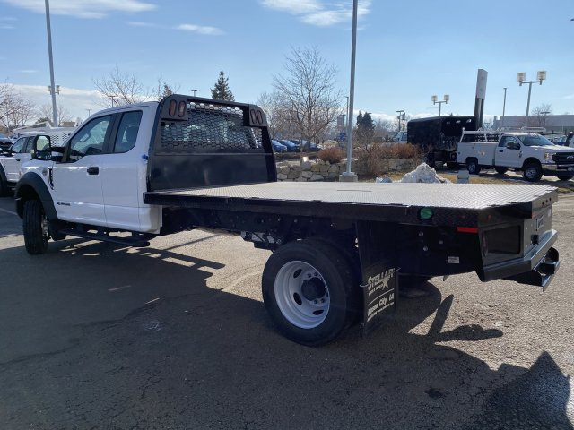 2019 Ford F-550 Super Cab DRW 4x4, Knapheide Platform Body #F71242 - photo 1