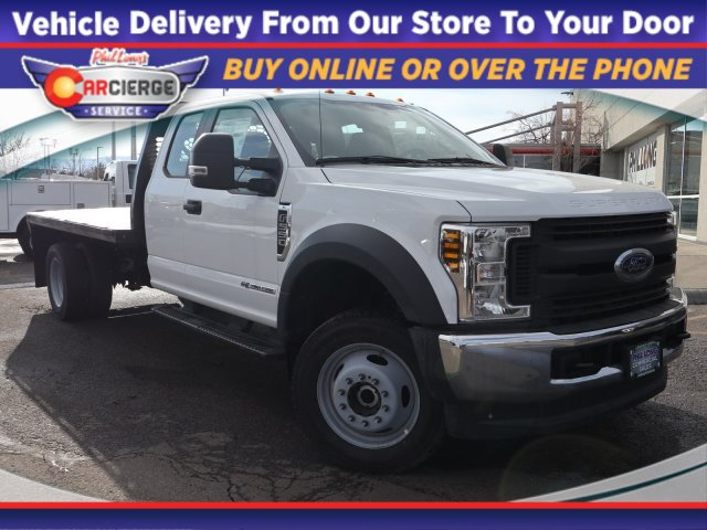 2019 Ford F-550 Super Cab DRW 4x4, Knapheide Platform Body #F84991 - photo 1