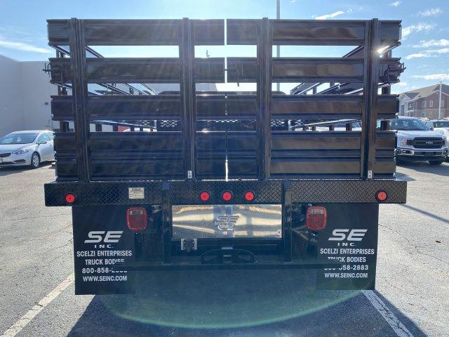 2019 Ford F-550 Crew Cab DRW 4x4, Scelzi SFB Stake Bed #F85534 - photo 6