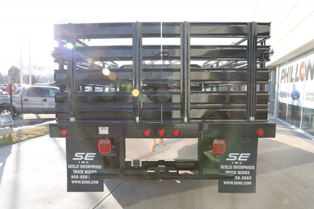 2019 F-550 Crew Cab DRW 4x4, Scelzi SFB Stake Bed #F85535 - photo 3