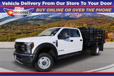 2019 Ford F-550, Scelzi Stake Bed