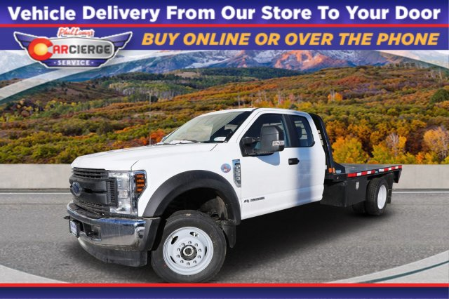 2019 F-550 Super Cab DRW 4x4, CM Truck Beds Platform Body #F85869 - photo 1