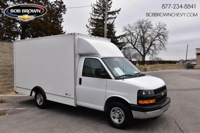 2018 Chevrolet Express 3500 4x2, American Cargo by Midway Cutaway Van #L1144953A - photo 1